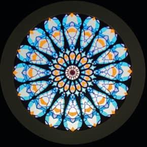 オリヴィエート大聖堂の薔薇窓